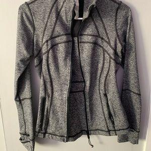 Lululemon Sweat Jacket Grey